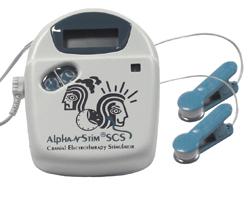 Alpha-Stim Craniale Elektrostimulatie